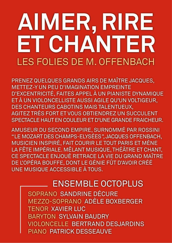 Aimer- Rire Et Chanter Flyer-2