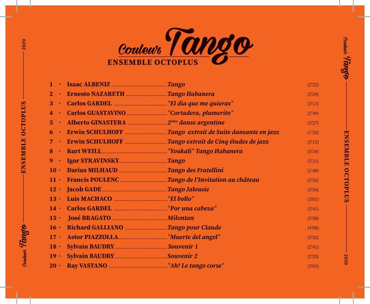 Couleur Tango - Verso