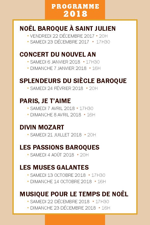 Programme 2018 - 03