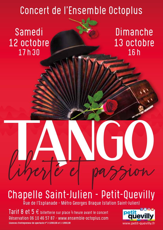 Tango, Liberté Et Passion Flyer-1