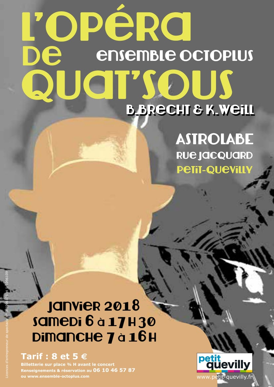 L\'opéra De Quat\'sous Flyer Bd-1
