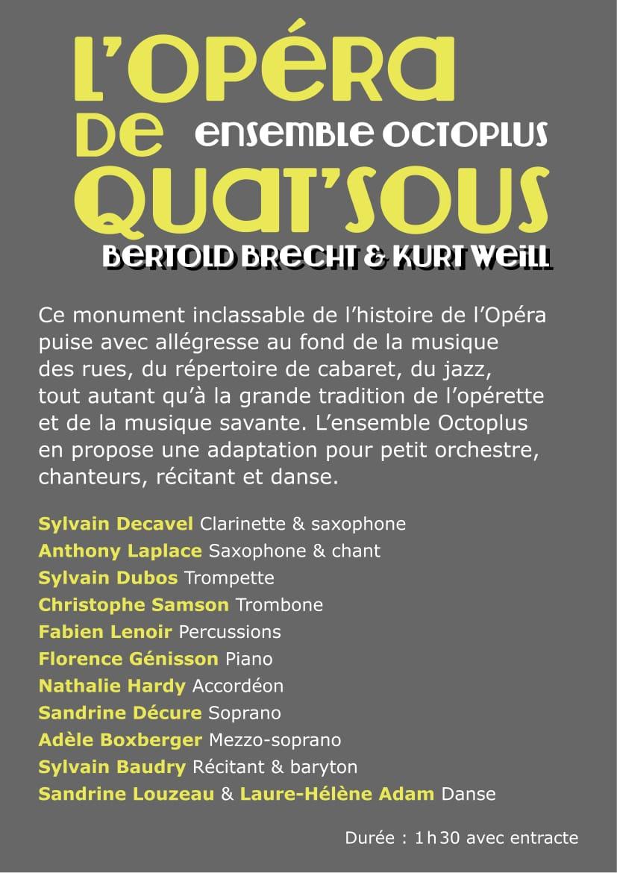 L\'opéra De Quat\'sous Flyer Bd-2